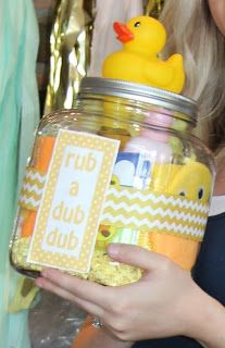 rub a dub dub baby shower gift