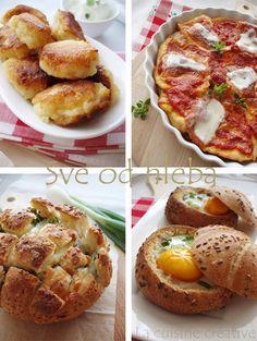 La cuisine creative: Sve od hleba