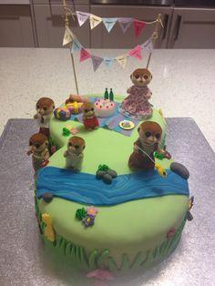 Sylvanian family cake
