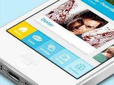 Dribbble - Cubovision UI by ileNOliukGO