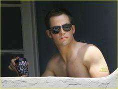 Chris Pine shirtless