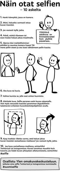Näin otat selfien - 10 askelta