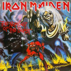 Iron Maiden - The Number of the Beast #ironmaiden #thenumberofthebeast