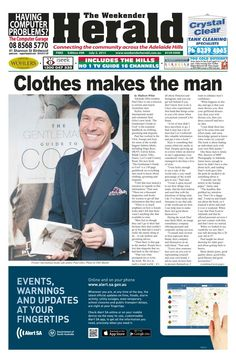 Latest editiononline now. We also have a Twitter account @WeekenderHerald' and we're on Facebook'The Weekender Herald' http://adelaidehills.realviewtechnologies.com/