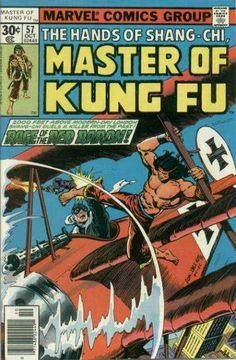 THE HANDS OF SHANG-CHI MASTER OF KUNG FU 57 BRONZE AGE MARVEL COMICS