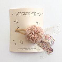 shopminikin - Woodstock London Pompom Liberty Pin, Pink, $18.00 (http://www.shopminikin.com/woodstock-london-pompom-liberty-pin-pink/)