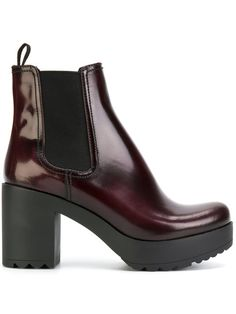 Are you ready, boots? Shop designer boots for women at Farfetch and find everything from biker to hiking, thigh-high to Chelsea by your favorite brands. Platform Boots, Fab Shoes, Boot Shop, Prada Shoes, Designer Boots, Block Heels, Leather Handbags, Red Leather