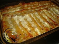 Κανελόνια με κιμά! Greek Recipes, Lasagna, Kids Meals, Deserts, Food And Drink, Pasta, Ethnic Recipes, Cookies, Crack Crackers