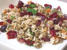 Lentil and Rice Salad