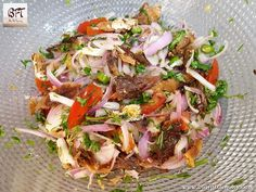 A lot of fish is salted and sun dried for use when fishing is not in season. These are used in various preparations. They do require an acquired taste to [. Mackerel Salad, Goan Recipes, Acquired Taste, Spicy Shrimp, Cabbage Salad, How To Make Salad, Sun Dried, Different Recipes, Cooking Time
