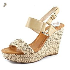 354988f27b08 INC International Concepts Womens ALFFIE Open Toe Casual Wedged Sandals