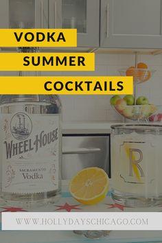 Sharing several of my hit vodka summer cocktails over on the blog!   #summercocktails #vodkadrinks #vodkacocktails #summerdrinks #vodka #cocktails #bestvodkacocktails