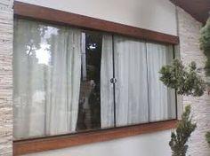 Resultado de imagem para janelas de madeira para varanda