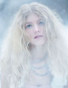Winter Wild Editorial 4 by on deviantART Snow Queen, Ice Queen, High Key Photography, Snow Elf, Nights In White Satin, Ice Princess, Pretty Pastel, Winter White, Stylists