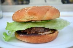 Best Burger Recipe Ever with Secret Sauce