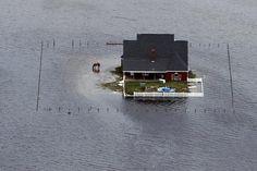 Hurricane Ike, Winnie, Texas. Photo on The SSPEED Center