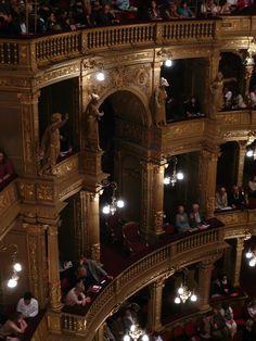 Opera House of Budapest Tour Around The World, Around The Worlds, Beautiful Wallpaper Photo, Kingdom Come, Concert Hall, Auditorium, Hungary, Budapest, Opera House