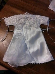 'Angel Gowns' program needs shipping help to meet demand Angel Outfit, Angel Dress, Diy Wedding Dress, Wedding Gowns, Couture, Funeral Outfit, Preemie Clothes, Angel Gowns, Gown Pattern