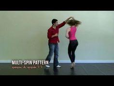 Multi-Spin Salsa Dance Pattern