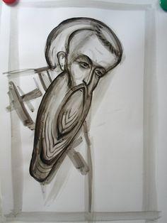 Frescele lui Alexandru Soldatov (Partea a Byzantine Icons, Art Icon, Orthodox Icons, Fresco, My Arts, Scene, Drawings, Image, Beards