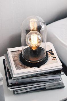 Interior: DIY Edison lamp