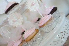 Pink Girly Cupcakes