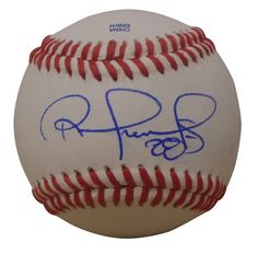 Texas Rangers Robinson Chirinos signed Rawlings ROLB leather baseball w/ proof photo.  Proof photo of Robinson signing will be included with your purchase along with a COA issued from Southwestconnection-Memorabilia, guaranteeing the item to pass authentication services from PSA/DNA or JSA. Free USPS shipping. www.AutographedwithProof.com is your one stop for autographed collectibles from Dallas Sports teams. Check back with us often, as we are always obtaining new items.