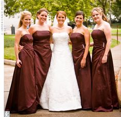 Amazing Weddings Gowns Gifts, The Knot photo #Bridesmaid #Brooches