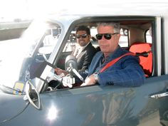 Anthony Bourdain and Ludo Lefebvre get behind the wheel of a classic Citroen DS. Possibly one of the best photos ever, just sayin'. Travel Channel Shows, Cool Pictures, Cool Photos, The Mick, Parts Unknown, I Miss Him, Citroen Ds, Alpha Male, Scene Photo