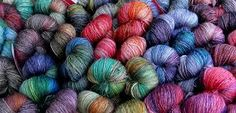 Amazing, inspiring colors from the yarnbox!