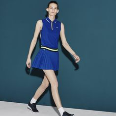 Lacoste SPORT Tennis pleated skirt in ultra-dry technical jersey