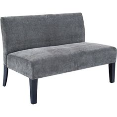 Solid Deco Loveseat - Walmart.com comes in brown and green as well