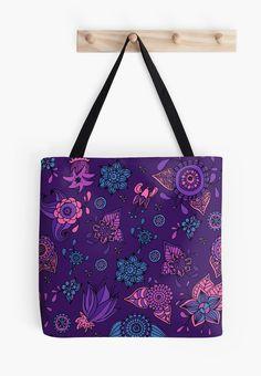 violet flowers pattern by Argunika  redbubble.com/people/argunika   #Argunika #redbubble #redbubblecreate #RedbubbleArtist #surfacedesign #surface #dress #tshirt #leggings #zen #psychedelic #boho #bohemian #hippie #boholook #yoga #yogaclothing #yogapants #abstract #bag #zenlife #ornament #pillow #duvet #home #decor #interior #homedecor #design #paisley #mandala