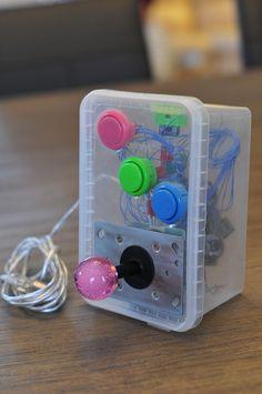 Stick arcade box récupération :-)