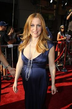 Gillian Anderson at event of The X Files: I Want to Believe (2008)