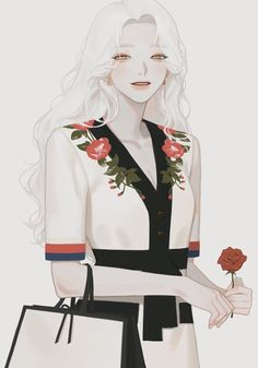 True love never dies, it only gets stronger with time. ❤❤❤❤ Welcome to read the best romance stories on Flying Lines. Manga Girl, Anime Art Girl, Character Inspiration, Character Art, Character Design, Pretty Art, Cute Art, Korean Art, Anime Hair