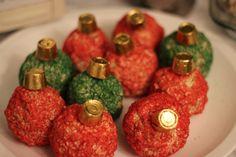 rice krispie treat ornaments