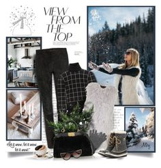 """Focus On What's Important"" by thewondersoffashion ❤ liked on Polyvore featuring STOULS, Duro Olowu, Topshop, Wyatt, Fendi, SOREL and Thierry Lasry"