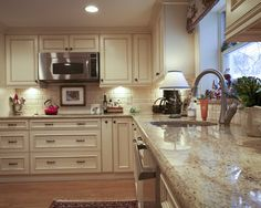 Colonial Cream Granite Design, Pictures, Remodel, Decor and Ideas