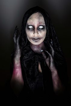 Dark Demon photo by Ramon Wenger | makeup and styling by Martina Brunner