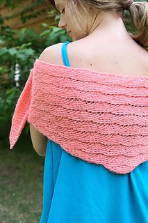 Mermaiden shawl