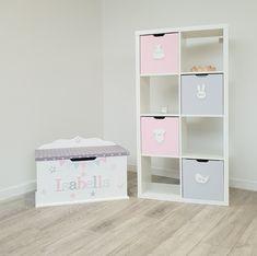 Furniture Ads, White Furniture, Cheap Furniture, Toy Storage Boxes, Toy Boxes, Kallax Shelf, Name Plaques, The Unit, Shelves
