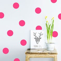 20pcs/54pcs Polka Dots Wall Sticker Nursery Stickers Kids Children Wall Decals Home Decor DIY Peel and Stick art wall decoration