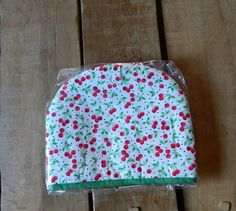 Tea Cosy cherry fabric Teapot cover, Handmade tea cozy, Kitchen accessory, House ware for tea, Unique gift idea, Wedding gift, Padded cosies