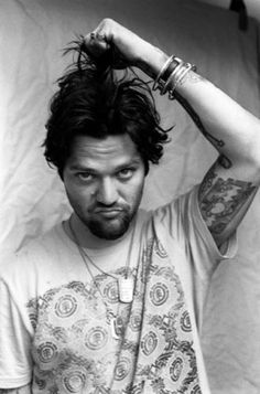 bam margera-I swear when I first met my bf they looked so much alike, plus there attitudes r the same=scary