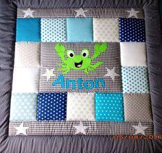 krabbeldecke kinderdecke patchworkdecke krabbeldecke patchworkdecke und babydecken. Black Bedroom Furniture Sets. Home Design Ideas