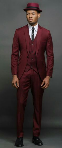 Marsala suit