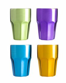 Cafe Espresso cups, 4-pack, assorted colors - Click to enlarge