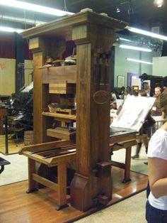 The Paper Studio & Letterpress Central: LA Printer's Fair 2010