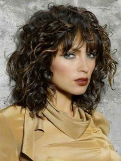 Fine 1000 Ideas About Medium Curly Haircuts On Pinterest Medium Hairstyles For Men Maxibearus
